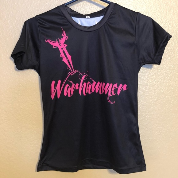 Warhammer Tops - Women's Warhammer Gym Gear Workout Shirt